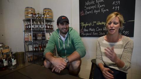 Ben Lyon and Jaime Windon have established Lyon Distilling Co. in St. Michaels, Md.