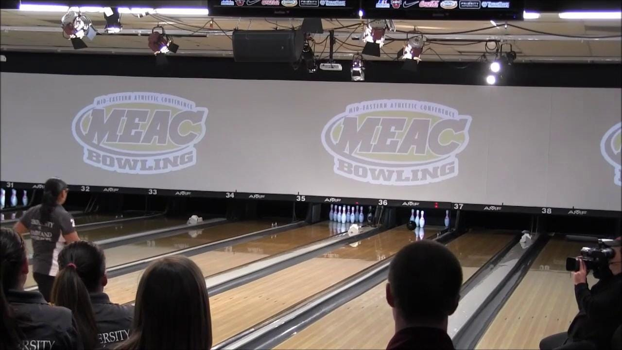 UMES Bowler Seraus Shining Far From Home And Young Son