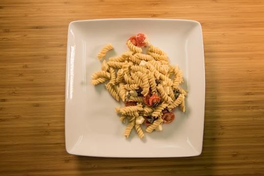 Delmarva Eats: Hummus Pasta Salad