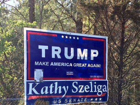 WATCH: Race, religious beliefs cited in burning of Trump sign