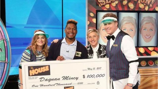 WATCH: SU student wins big on 'Ellen'