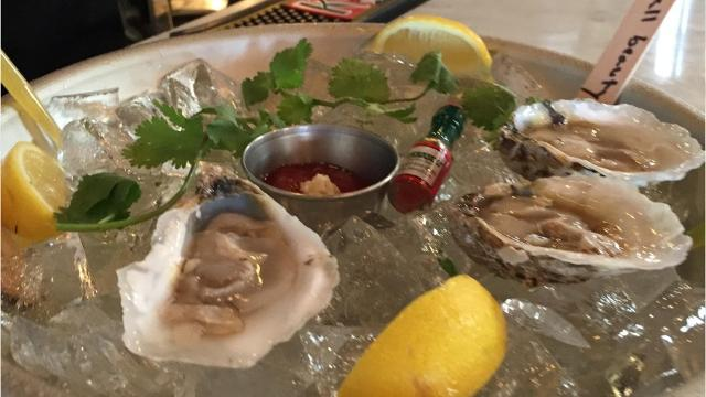Blackwall Hitch's new signature oyster farmed off Chincoteague