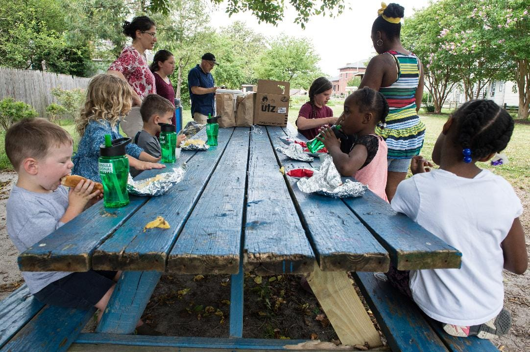 WATCH: Summer Lunch brings the neighborhood together