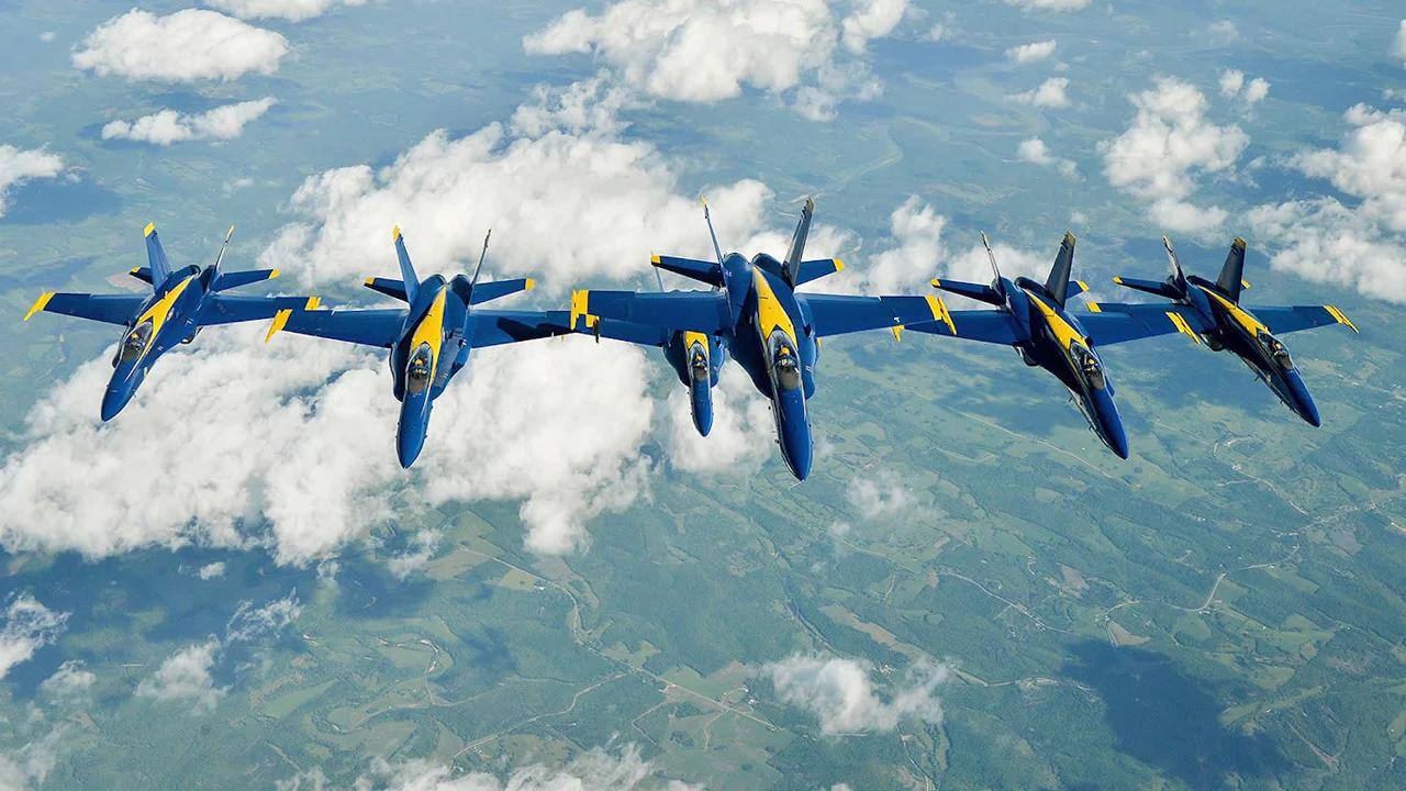 WATCH: Blue Angels prepare for the OC Air Show