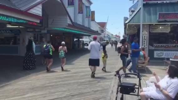 WATCH: Sights and sounds of the Ocean City Boardwawlk