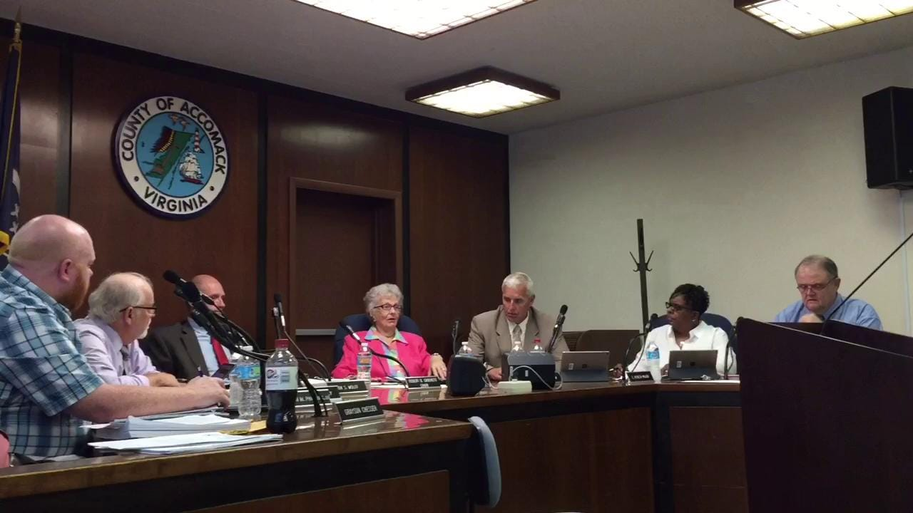 WATCH: Accomack Fire Commission recommends Onley Vol. Fire Company close