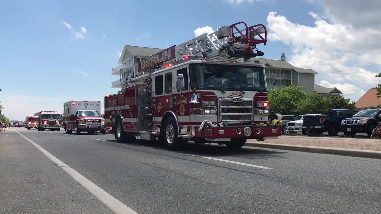 WATCH: 2017 Maryland State Fireman Association Parade