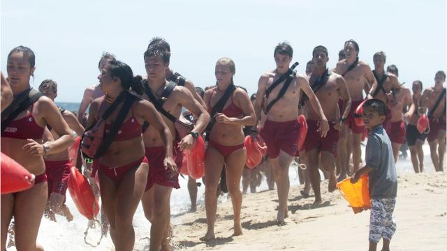 WATCH: OC Beach Patrol issue orders on toplessness