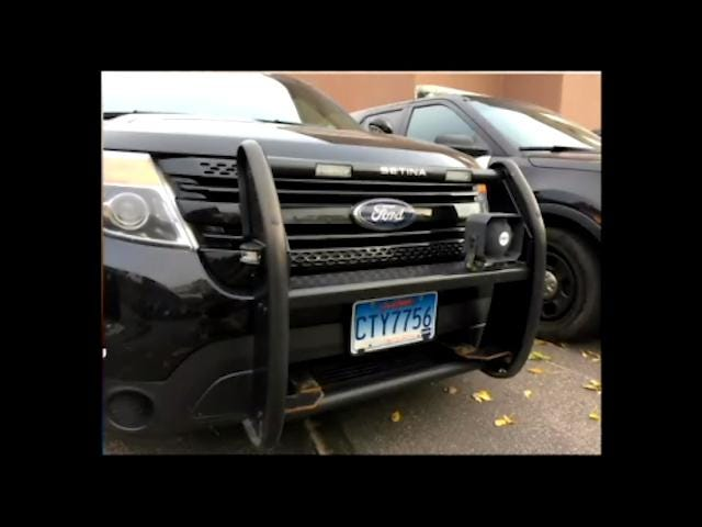 Video: Push bumpers on police cars