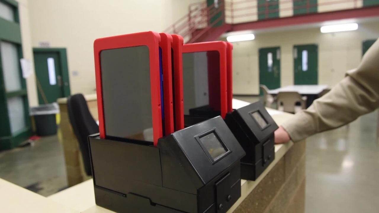 Video: Tablets for inmates at Minnehaha County Jail
