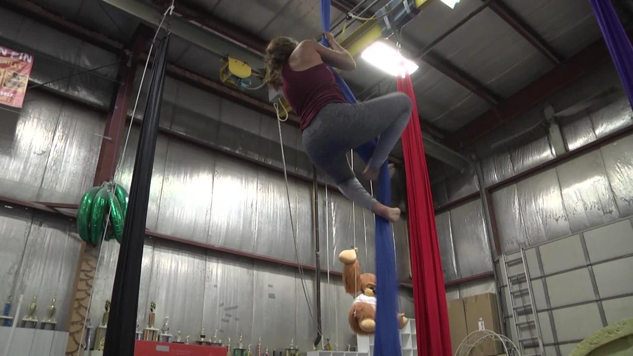 Fire dancers and aerial acrobats will perform on Saturday, June 17 at Big's Bar. Food and Entertainment reporter Alexa Giebink gives an inside look on the preparation before the event.
