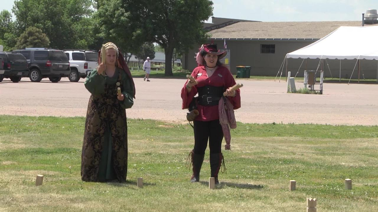 Travel back in time to medieval England at the 16th annual Siouxland Renaissance Festival this weekend. Reporter Alexa Giebink dressed up in historical attire to speak with organizers about the entertainment being offered this year.