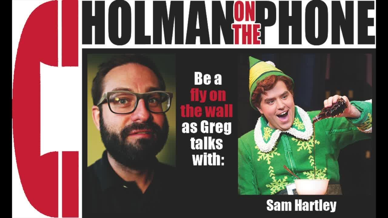 Interview with Sam Hartley, a Broadway actor starring in 'Elf'