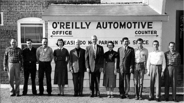 The history of O'Reilly Auto Parts