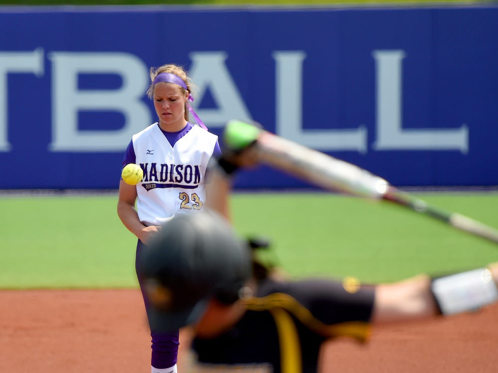 Softball player and Fort Defiance alumni Megan Good has made a name for herself on the mound pitching for James Madison University.