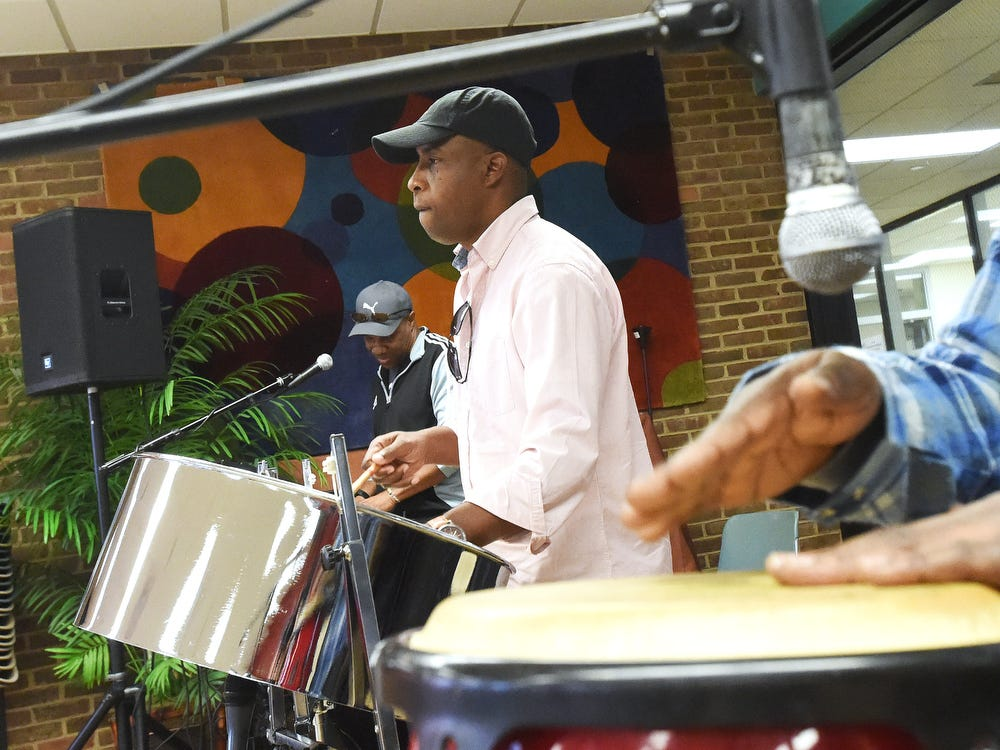 steel drums and the caribbean at brcc for black history month