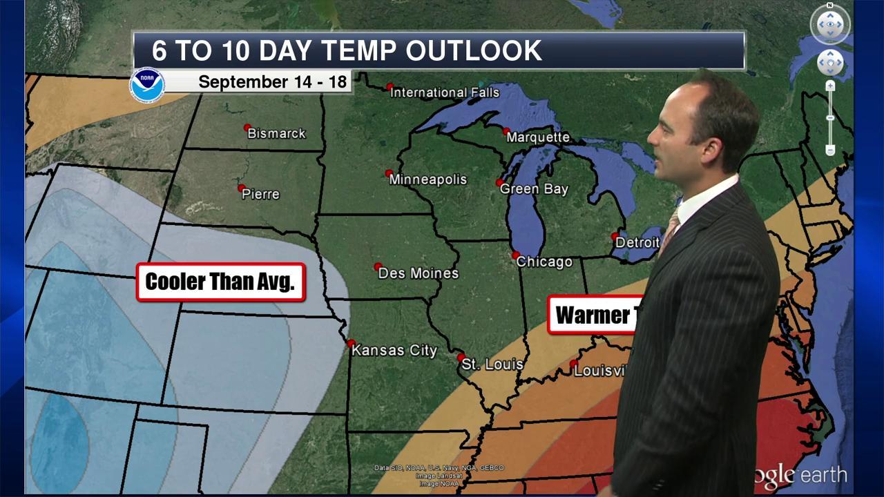 St  Cloud Morning Weather Forecast - September 9, 2016