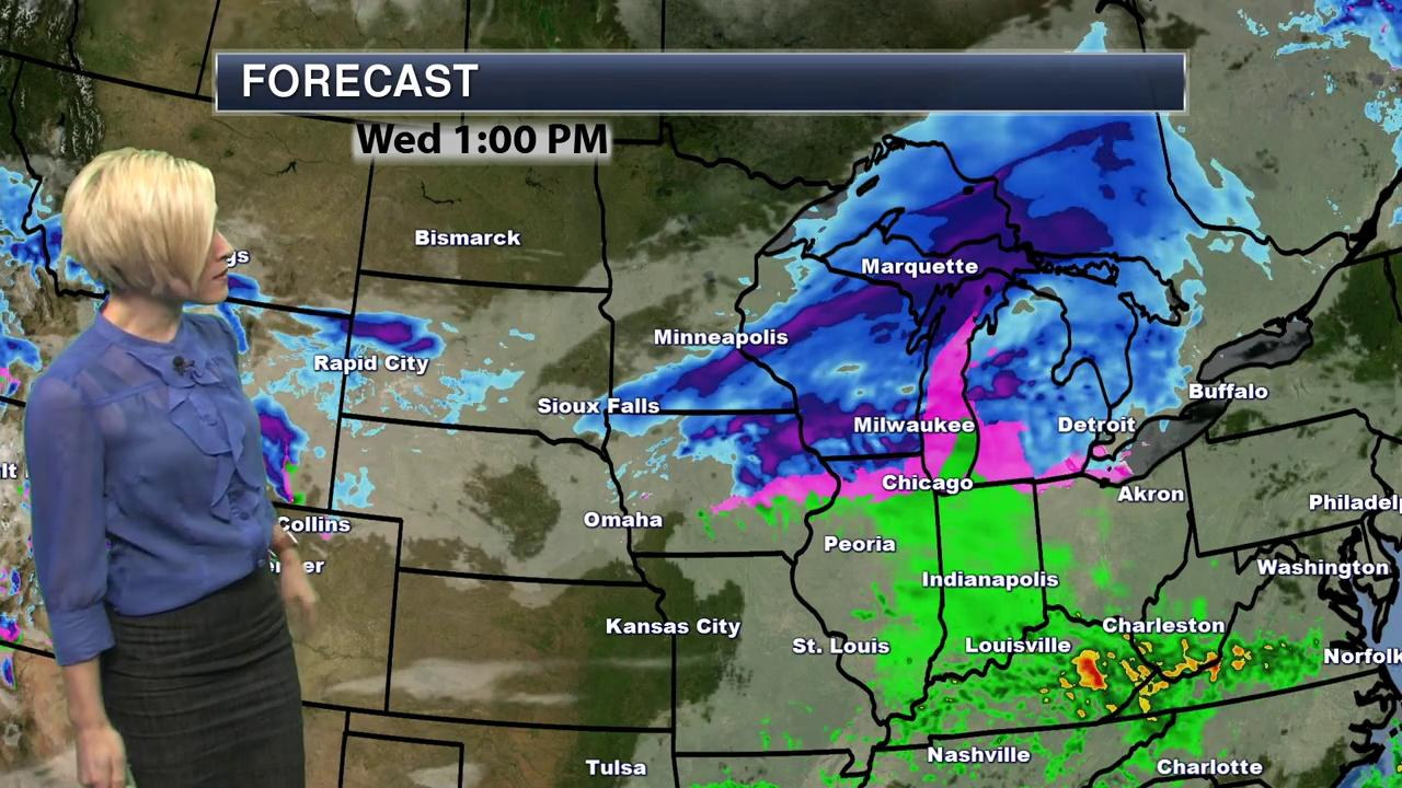 Morning North Central Regional Weather Forecast - January 11, 2017