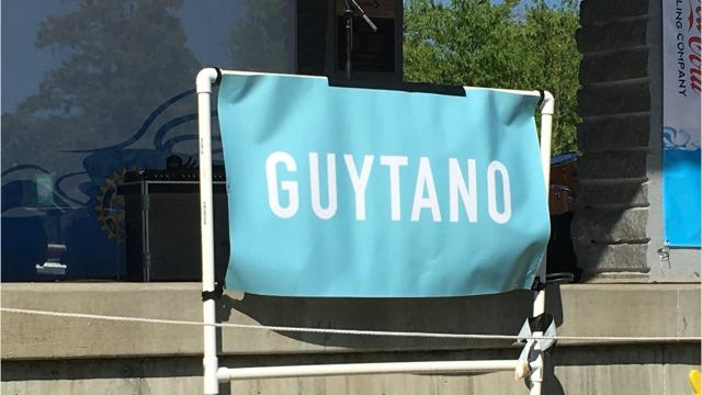 Sartell-based alt-rock band Guytano rocked the crowd at the June 21 Summertime by George! concert in the park, opening for The Shalo Lee Band.