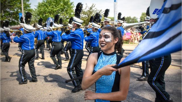 Parades heat up area summer festivals