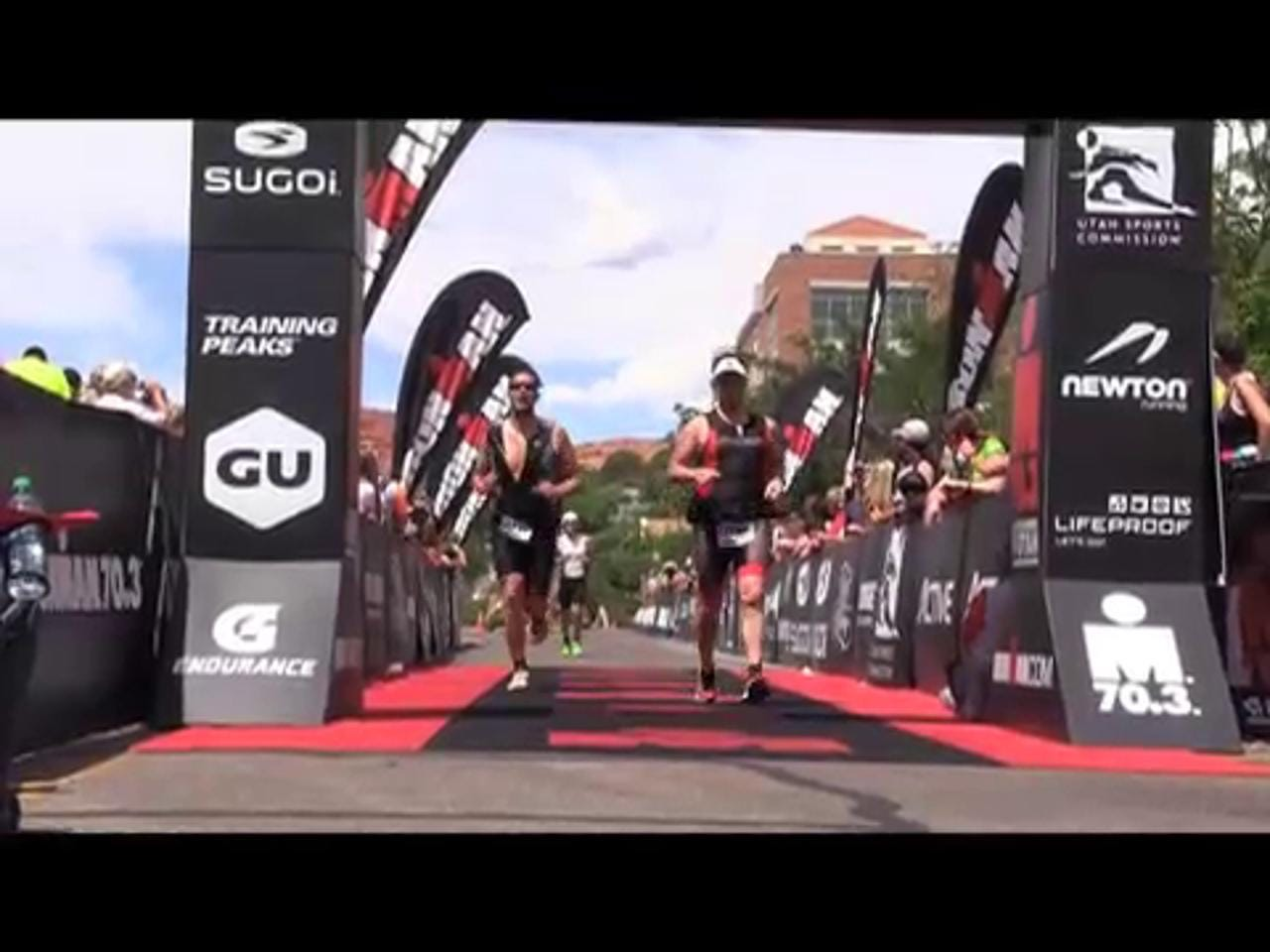 Competitors from around the world traveled to St. George, Utah, to compete on what has been called one of the world's toughest Ironman 70.3 courses on Saturday, May 2, 2015.