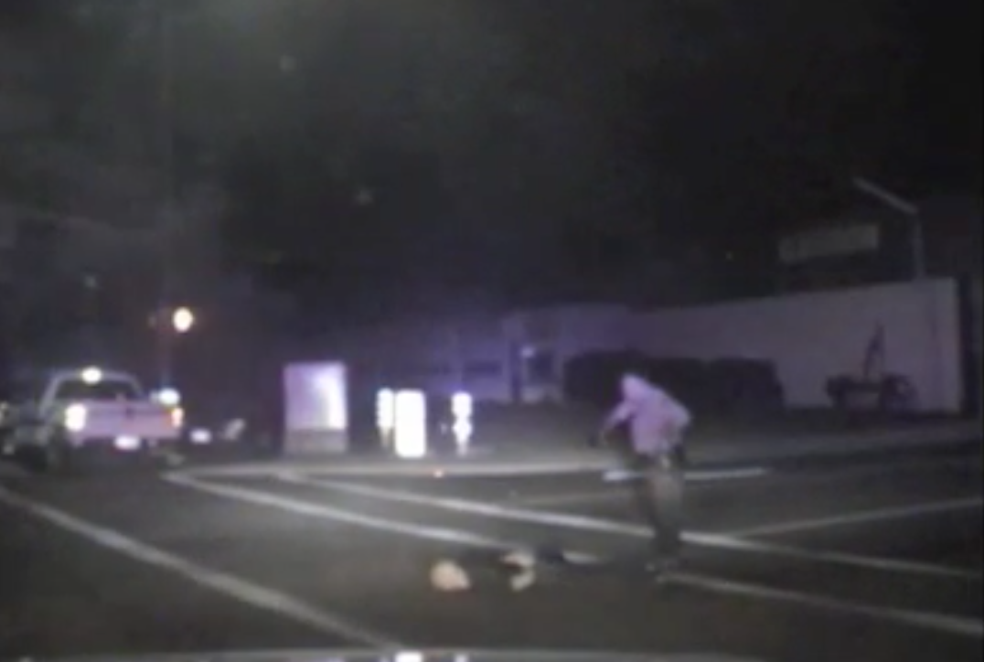 Police dash cam video shows arrest of Michael Ryan Dalby
