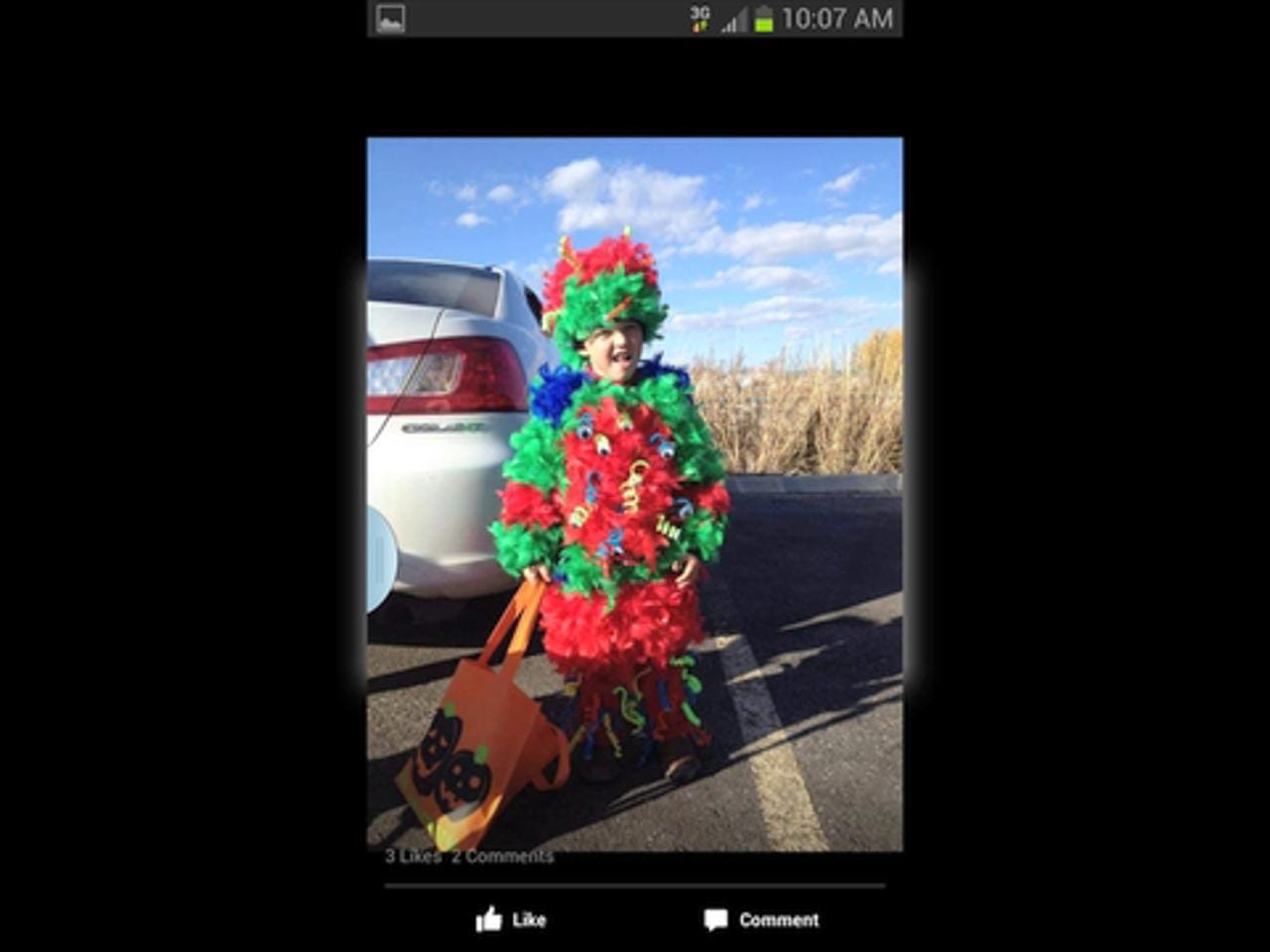 Modern Moms, Lisa Larson and Samantha Sadlier, discuss Halloween costumes and share photos of children in costumes submitted by readers.