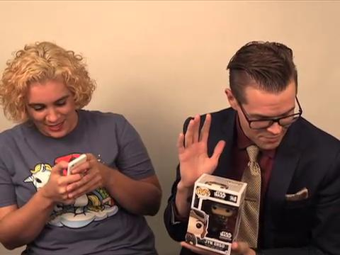 """In honor of the upcoming 'Rogue One,' Matt & Casie unbox Funko's Smuggler's Bounty. Inside they found treasures from """"Rogue One: A Star Wars Story."""""""