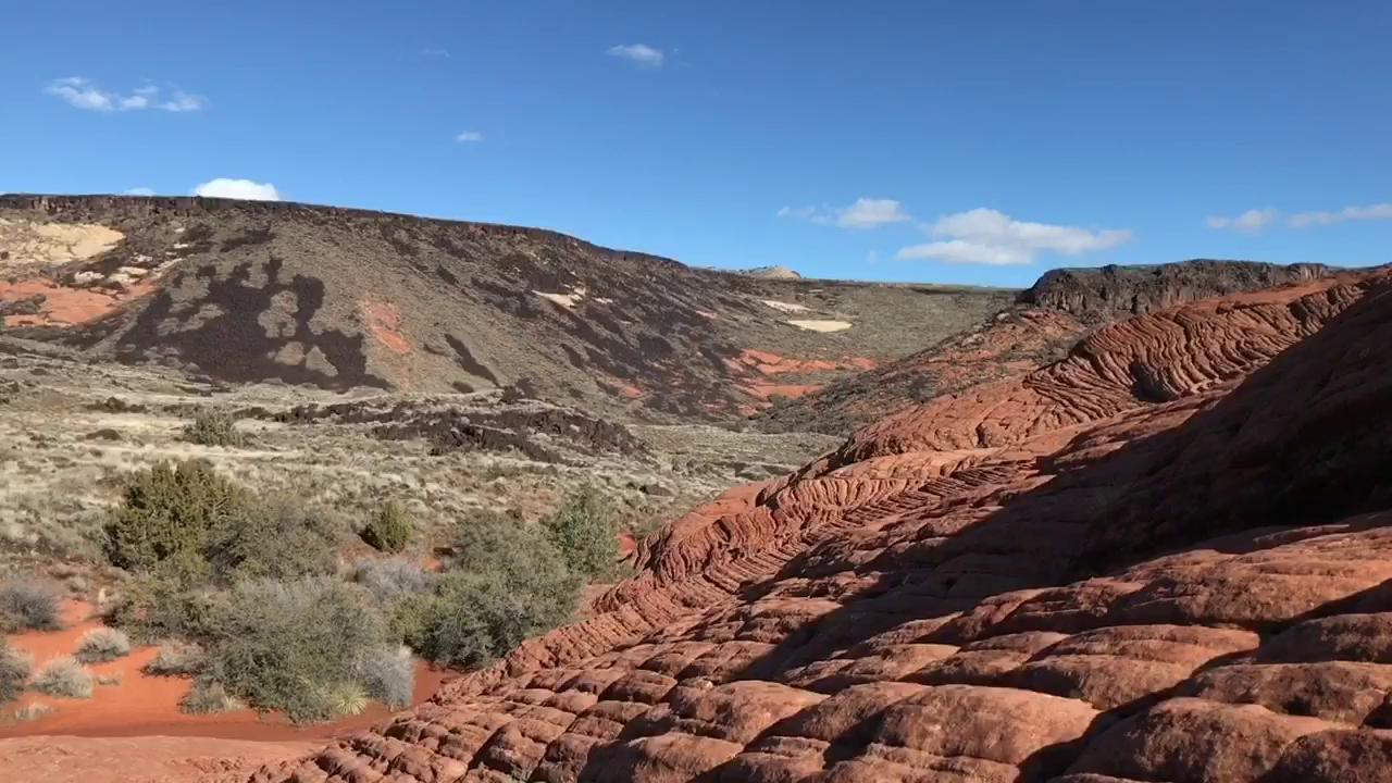 Brian Passey's Backyard Ramblings column explores the Petrified Dunes Trail in Snow Canyon State Park.