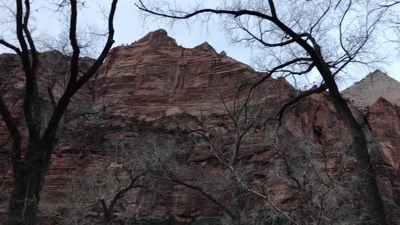 Brian Passey's Backyard Ramblings column visits the Grafton ghost town and Zion National Park.