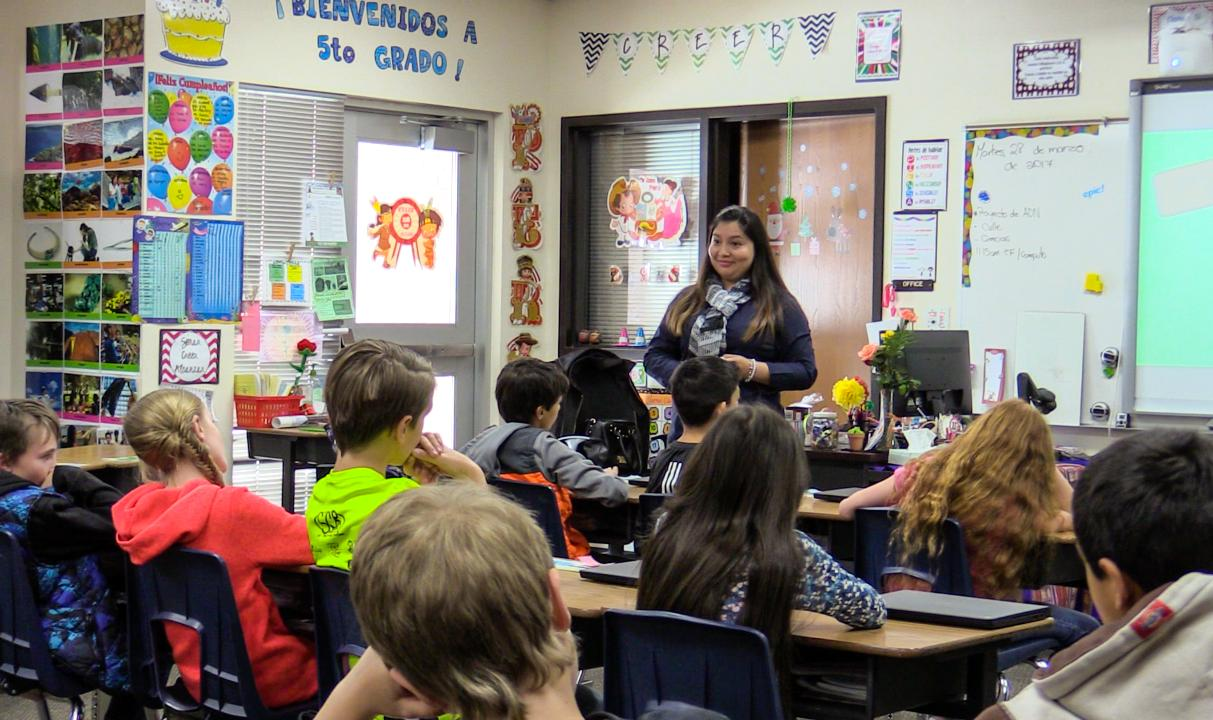 A look into the dual immersion program at East Elementary in Cedar City.