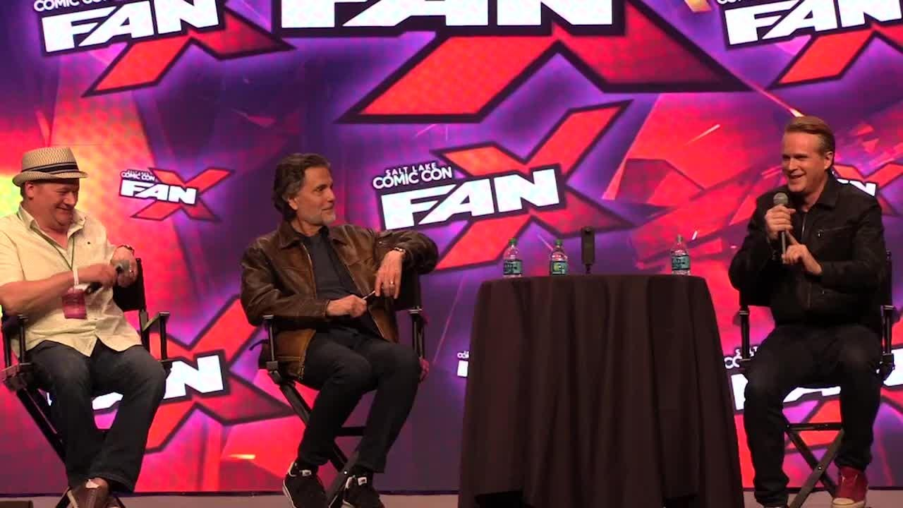 """Cary Elwes and Chris Sarandon reunite at the Salt Lake Comic Con Fan Xperience Saturday, March 18, 2017, to discuss """"The Princess Bride,"""" Andre the Giant and other behind-the-scenes stories."""