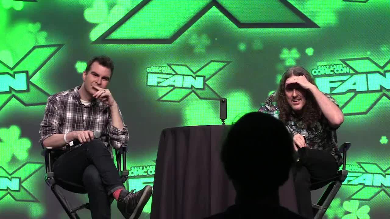Weird Al Yankovic entertained a packed room of fans at the recent Salt Lake Comic Con Fan Xperience on March 17, 2017, as he talked about his career, why he wasn't allowed to make eye contact with Prince, and polka.