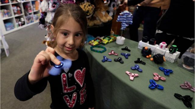 Fidget spinners quickly gained popularity in spring 2017, and now many stores can't keep the toys in stock.