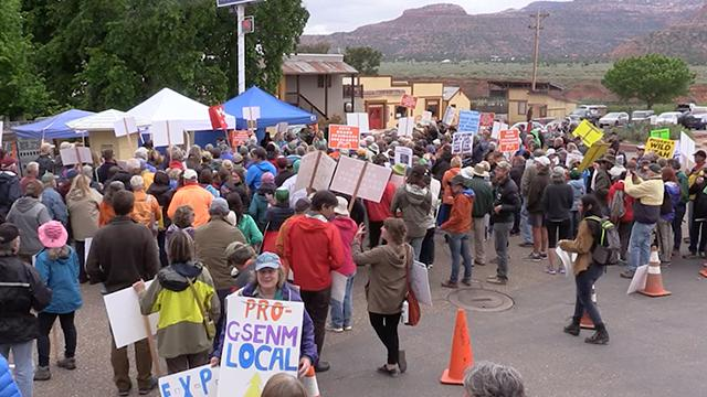 Kanab Residents Voice Concerns Over Zinke Visit, Future of National Monuments