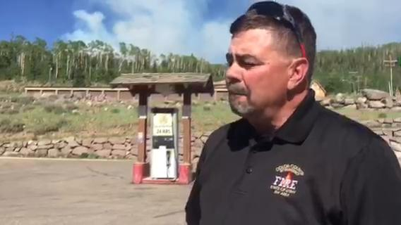 Spectrum reporter Bree Burkitt speaks with Mike Melton, fire management officer for southwest Utah, on the current status of the Brian Head Fire.