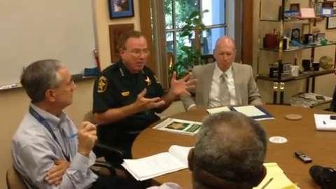 Members of Florida Sheriffs Association lobby against medical marijuana amendment