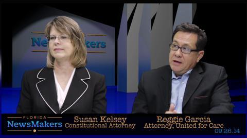 Florida NewsMaker: Hear both sides of amendment 2