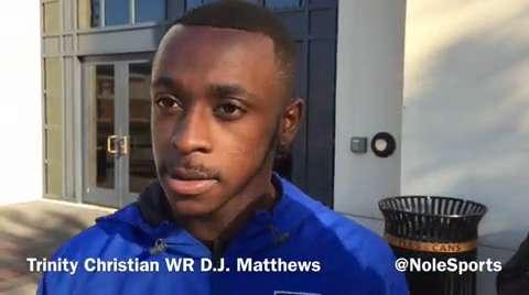 Video: FSU WR commit D.J. Matthews recaps junior day visit