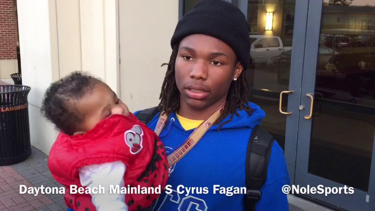 Video: Top 5 safety Cyrus Fagan recaps FSU junior day visit