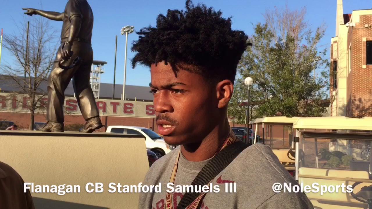 Video: 4-star CB Stanford Samuels III recaps FSU junior day visit