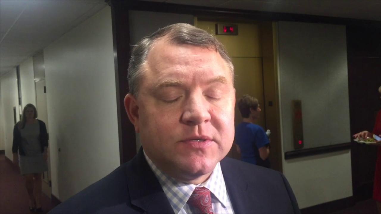 Sen. Bradley discusses medical marijuana law