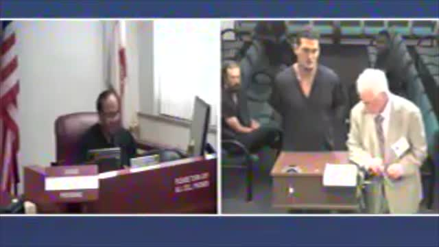 Sigfredo Garcia at bond hearing