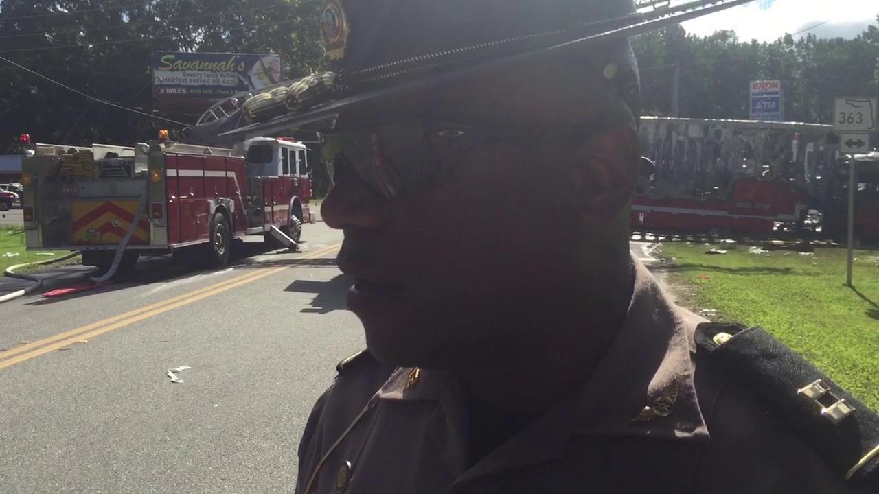 FHP Capt. Jeffrey Bissainthe on fatal crash