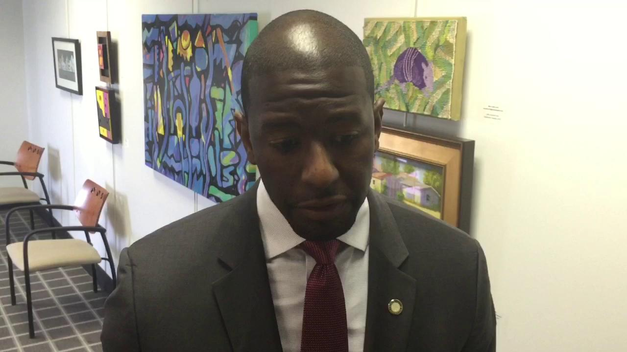 Mayor Andrew Gillum talks disaster planning