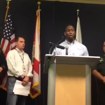 City & County officials' press conference on Hurricane Hermine