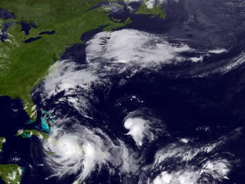 NOAA visualization shows Matthew tracking toward Florida