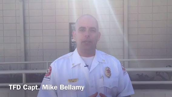 Watch it: TFD Capt  Mike Bellamy on elevator accident