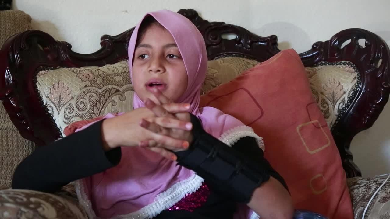 Watch it: Syrian refugee Heba Almasri, 9, on school in America