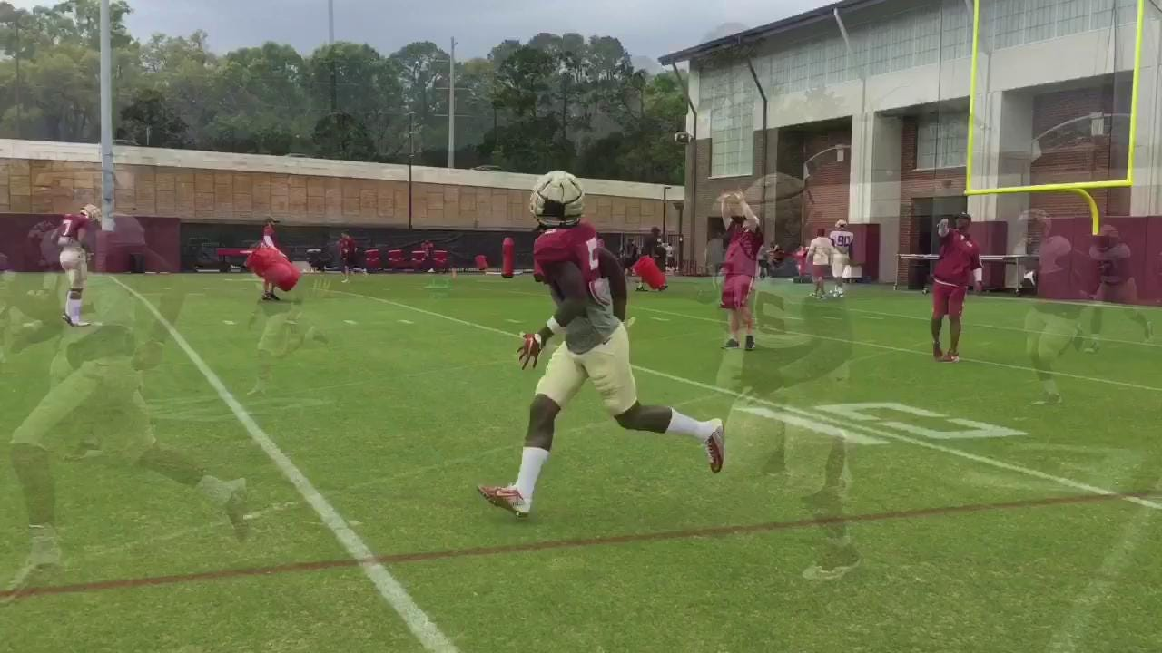 Watch it: FSU practice sights and sounds from March 23rd